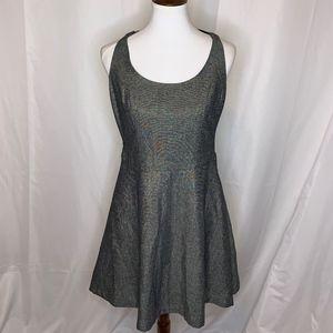 Kardashian Kollection Sleeveless Shimmery Dress